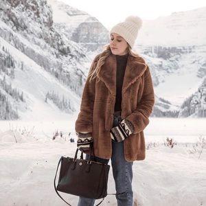 Zara Teddy Bear Coat